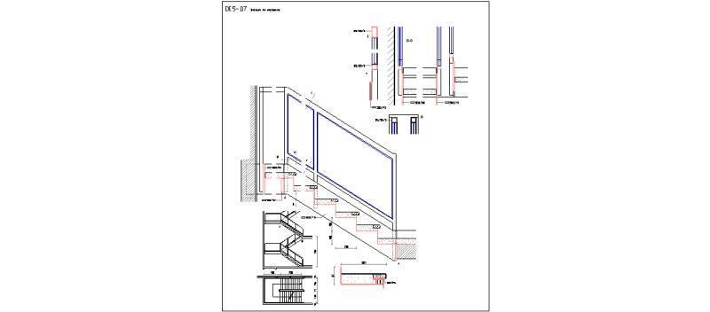 Bloques autocad gratis escaleras for Escalera de bloque de jardin