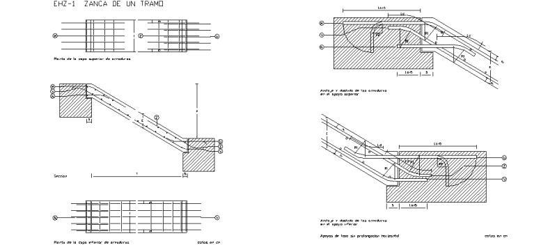 Bloques autocad gratis nte normas tecnol gicas de la - Escalera metalica prefabricada ...