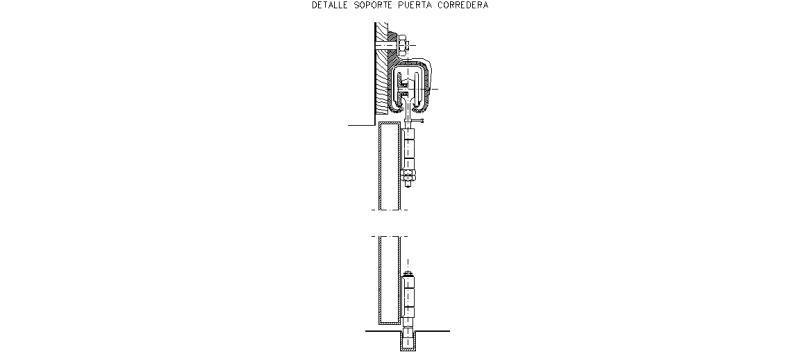 Bloques autocad gratis puertas interiores y de entrada - Guia puerta corredera ...