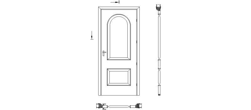 Bloques Autocad Gratis Puertas Interiores Y De Entrada