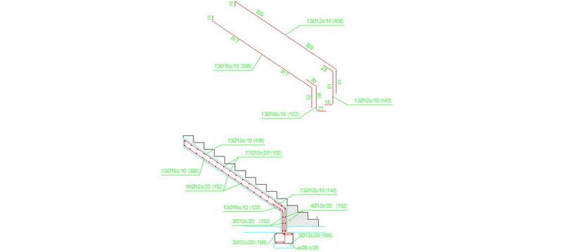 Bloques autocad gratis detalles constructivos armado - Escalera metalica prefabricada ...