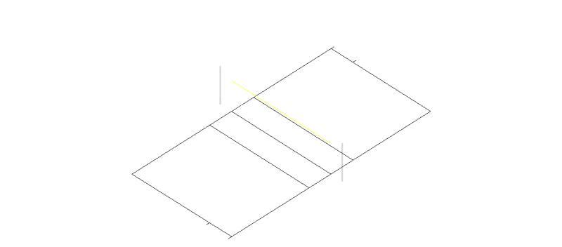 Bloques AutoCAD Gratis de Cancha de voleibol en 3 dimensiones