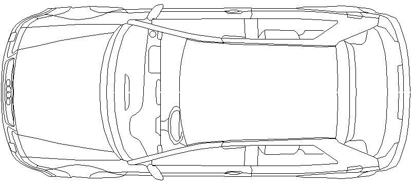Bloques Autocad Gratis De Coche Vista En Planta Audi A3