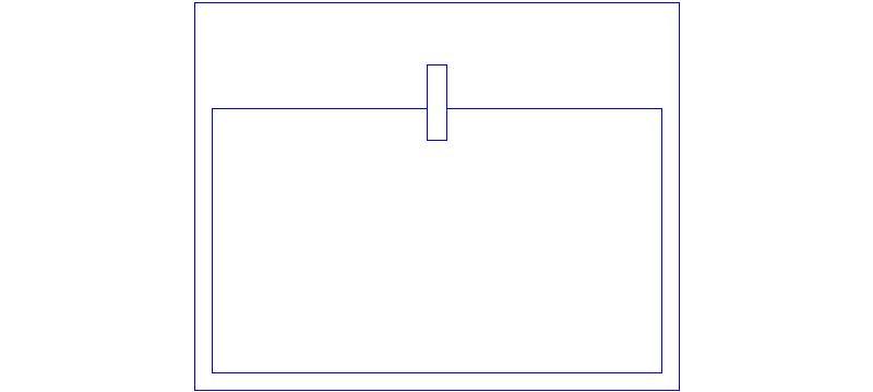 Bloques autocad gratis de lavabo visto en planta dimensiones 0 55 0 44m - Bloques autocad grifos ...