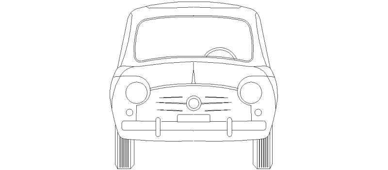 bloques autocad gratis de seat    fiat 600  u2013 visto en
