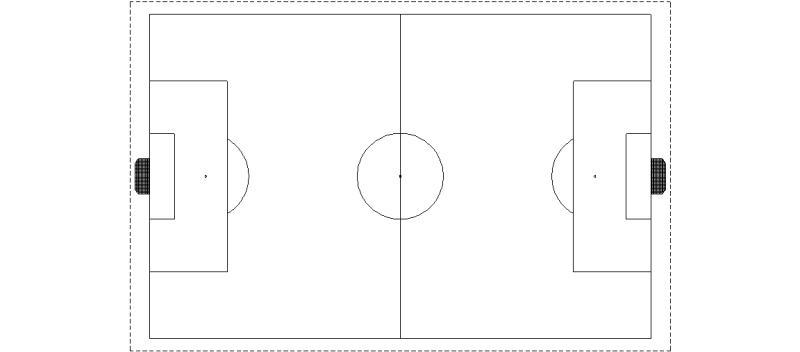 Resultado de imagen para cancha de futbol para dibujar