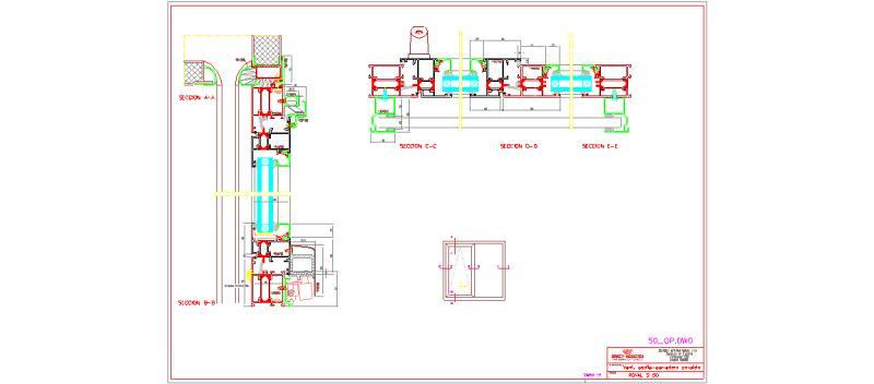 Bloques autocad gratis de ventana oscilo paralela corredera for Puerta osciloparalela