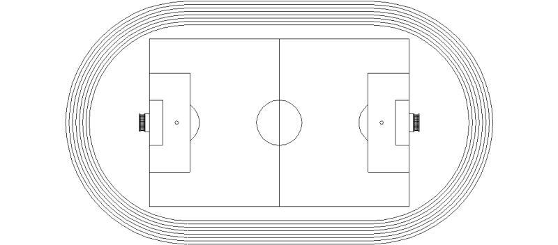 Canchas deportivas de futbol para colorear - Imagui