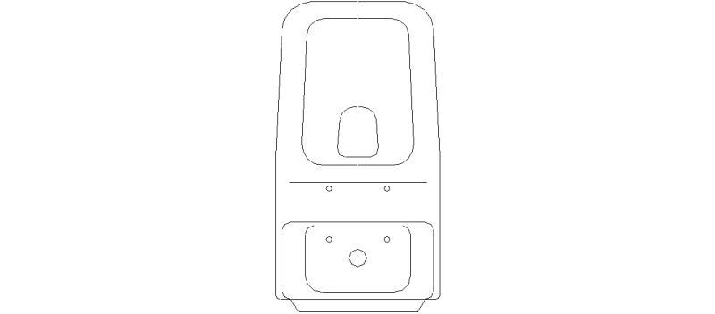Bloque Baño Adaptado:estás en bloques autocad gratis descarga bloques sanitarios muebles