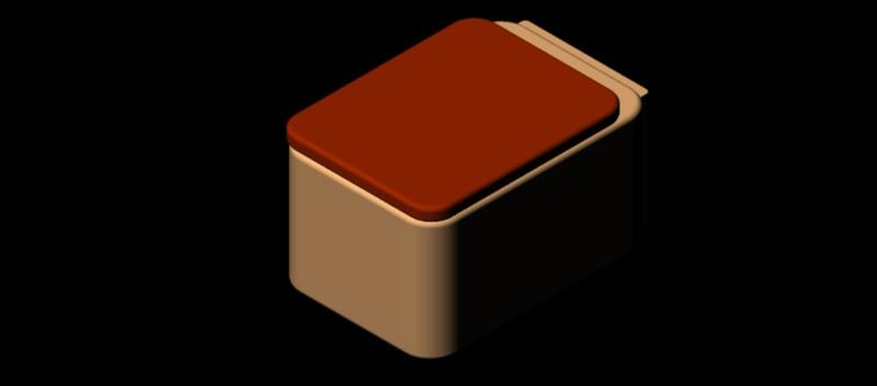 inodoro - w.c. suspendido en 3 dimensiones