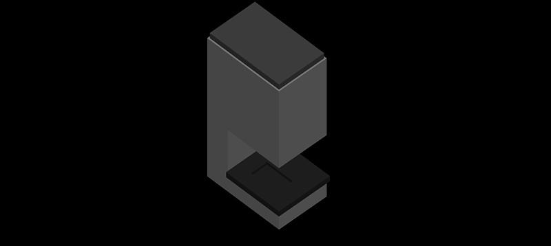 chimenea en 3d (3 dimensiones) modelo 07