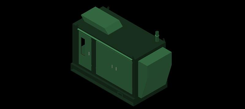 generador de corriente en 3d (3 dimensiones)