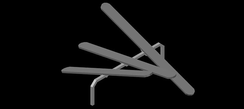 balancín en 3d (3 dimensiones)