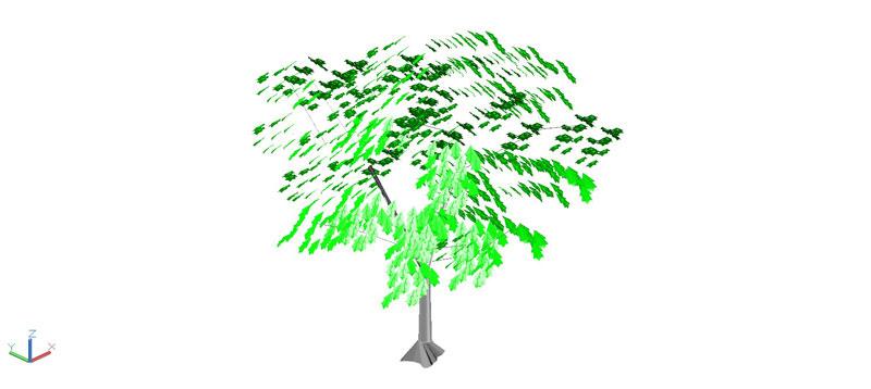 árbol en 3 dimensiones, vegetación 3d-01