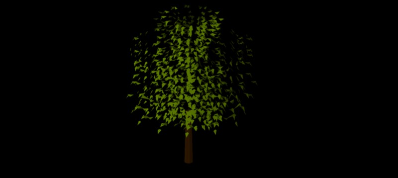 árbol en 3 dimensiones, vegetación 3d-03