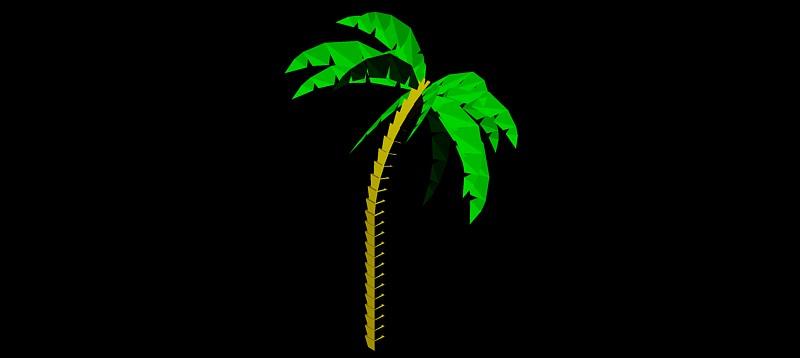 palmera en 3 dimensiones, vegetación 3d-04
