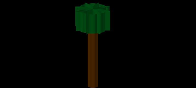 árbol en 3 dimensiones, vegetación 3d-08