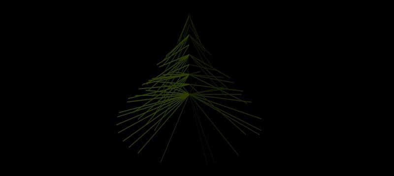 árbol en 3 dimensiones, vegetación 3d-10