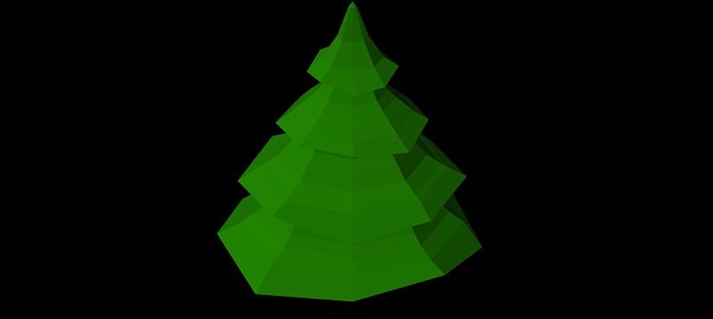 árbol en 3 dimensiones, vegetación 3d-14