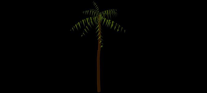 palmera en 3 dimensiones, vegetación 3d-02