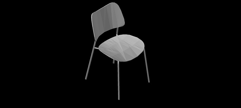 silla en 3d (3 dimensiones) modelo 06
