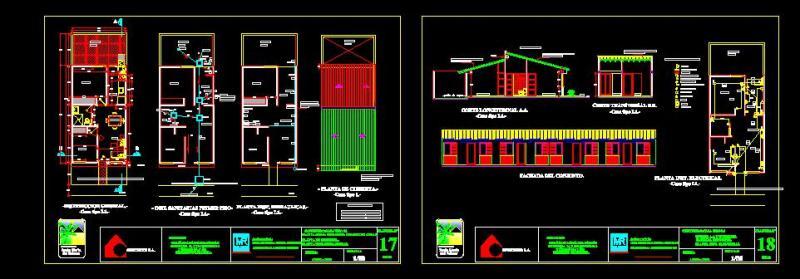 Bloques autocad gratis de proyecto viviendas unifamiliares - Cad casa gratis ...