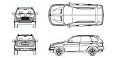 Bloques autocad gratis de arquitectura extensi n cad for Carros para planos arquitectonicos