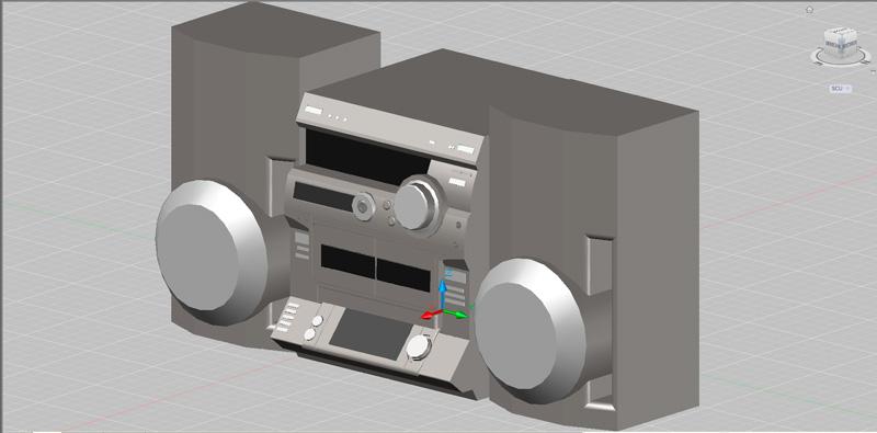 equipo de sonido en 3 dimensiones