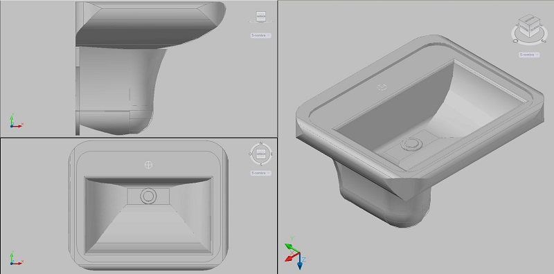 Bloques autocad lavabo hogar y ideas de dise o for Bidet bloque autocad