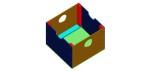 cajón de juguetes en 3D