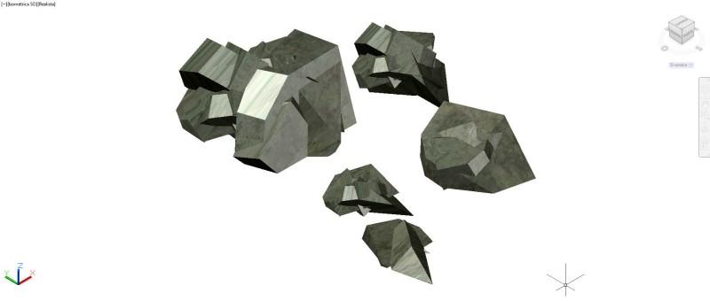 rocas en 3D